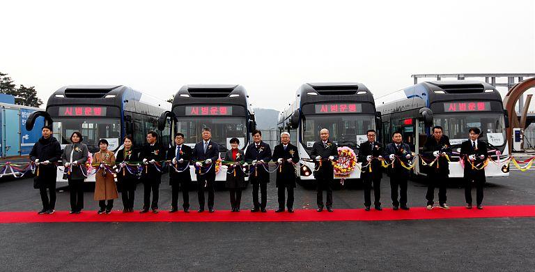 20200122-BRT 첨단전기굴절버스 23일부터 본격 운행개시